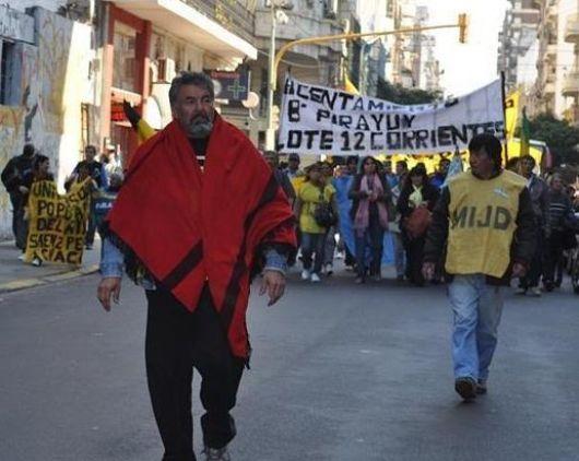 El reclamo de viviendas se nacionalizó con una marcha al Congreso