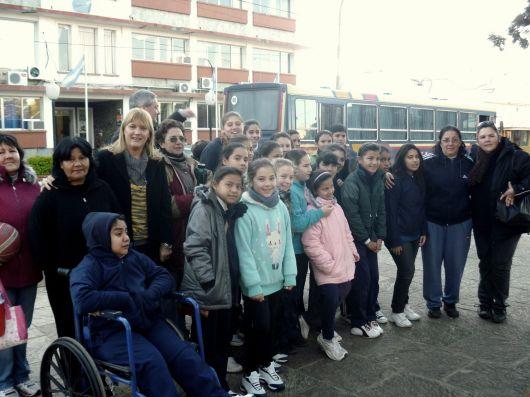 El básquet femenino de Bella Vista viajó a Goya