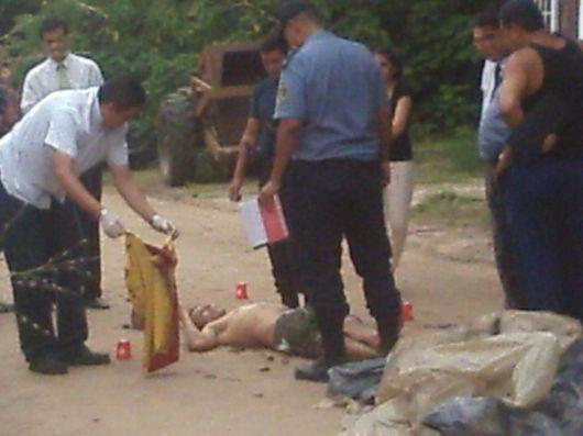 Hombre fue asesinado de 3 balazos en un crimen pasional
