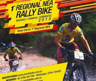 foto:  Lanzamiento del Campeonato Regional Rally Bike NEA 2015