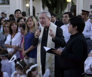 foto: Municipio junto a la Iglesia católica inauguraron la Ñandé Navidad