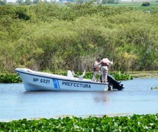 foto: Prefectura busca intensamente a un pescador desaparecido