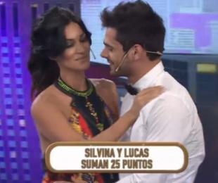foto: El momento tenso entre Silvina Escudero y Lucas Velasco