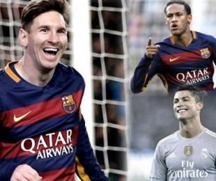 foto: Lionel Messi ya tiene rivales para el Balón de Oro: CR7 y Neymar
