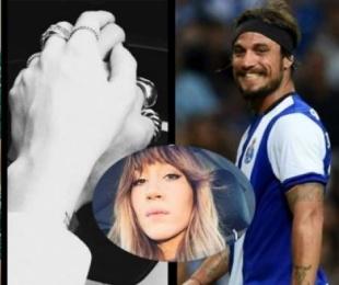 foto: Barón se descargó en twitter y el ex elogió a su nueva novia