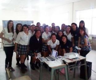 foto: Goya: brindaron taller sobre violencia de género