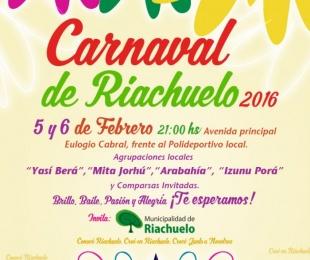 foto: Este fin de semana llega el Carnaval de Riachuelo 2016