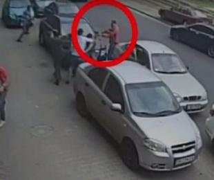 foto: Dispararon contra periodistas por grabar un accidente de tránsito