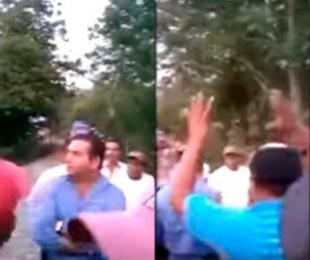 foto: VIDEO: golpearon a un político en México por no cumplir con obras