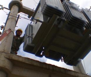 foto: Dpec realiza mejoras en Capital, Goya, Santo Tomé y Mercedes