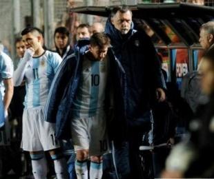 foto: Messi sufrió un traumatismo
