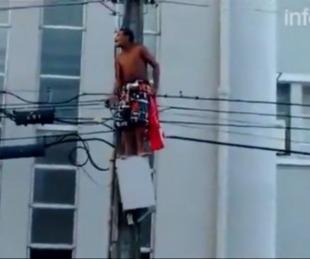 foto: Un joven murió electrocutado en un acto de Dilma Rousseff