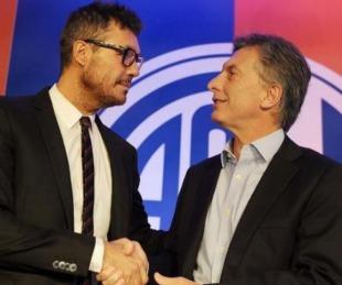foto: Macri recibirá mañana a Tinelli en la Quinta de Olivos
