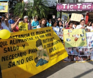 foto: Municipio conmemorará la Semana Mundial de la Lactancia materna