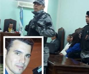 foto: Inició el juicio por la muerte de Maxi Aquino en el Bº Aldana