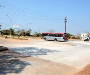 foto: La Comuna habilitó la rotonda de las avenidas Frondizi y Cangallo