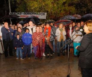foto: Colombi inauguró pavimento en avenida de Goya