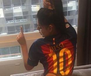 foto: Miss BumBum lanzó una campaña para que Messi la desbloquee