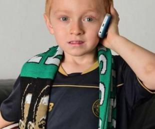 foto: Un niño llamó al Celtic para pedir disculpas por faltar a un partido