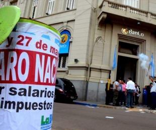 foto: Bancarios convocan a un paro nacional para el 28 de octubre