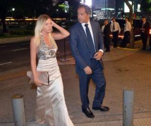 foto: Daniel Scioli volvió a mostrarse junto a la modelo Gisela Berger