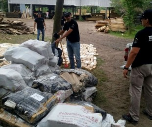foto: Ituzaingó: realizaron quema de más de tres toneladas de marihuana