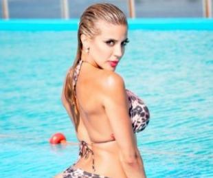 foto: Modelo extranjera trató a Virginia Gallardo de