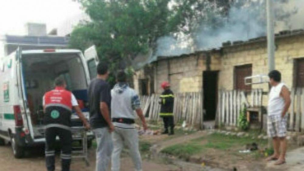 foto:  Intentaron violarla, la mataron e incendiaron su casa