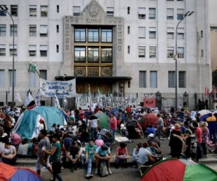 foto: Afirman que el kirchnerismo financió las movilizaciones recientes