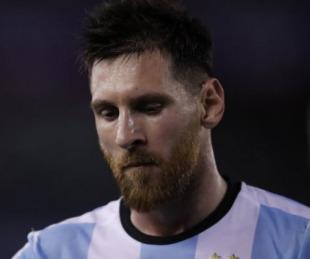 foto: FIFA sancionó por 4 fecha a Lionel Messi por insultar