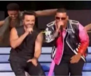 foto: Daddy Yankee y Luis Fonsi cantaron