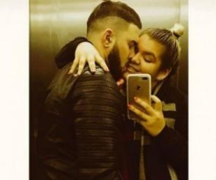 foto: Morena Rial y su novio se tatuaron su fecha de aniversario