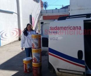 foto: Albergue de la parroquia Itatí ya recibió donaciones de la gente