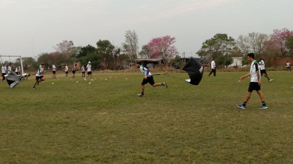 foto: Silisqui se sumó al doble turno en Mandiyú