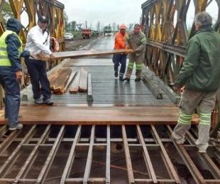foto: Se habilitó el tránsito para vehículos livianos en el Iribú Cuá