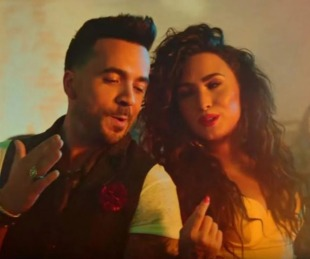 foto: Luis Fonsi y Demi Lovato estrenan