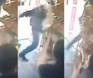 foto: Evitó un robo al tirarle agua caliente al delincuente