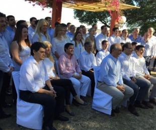 foto: Eduardo Tassano presentó oficialmente a todo su Gabinete