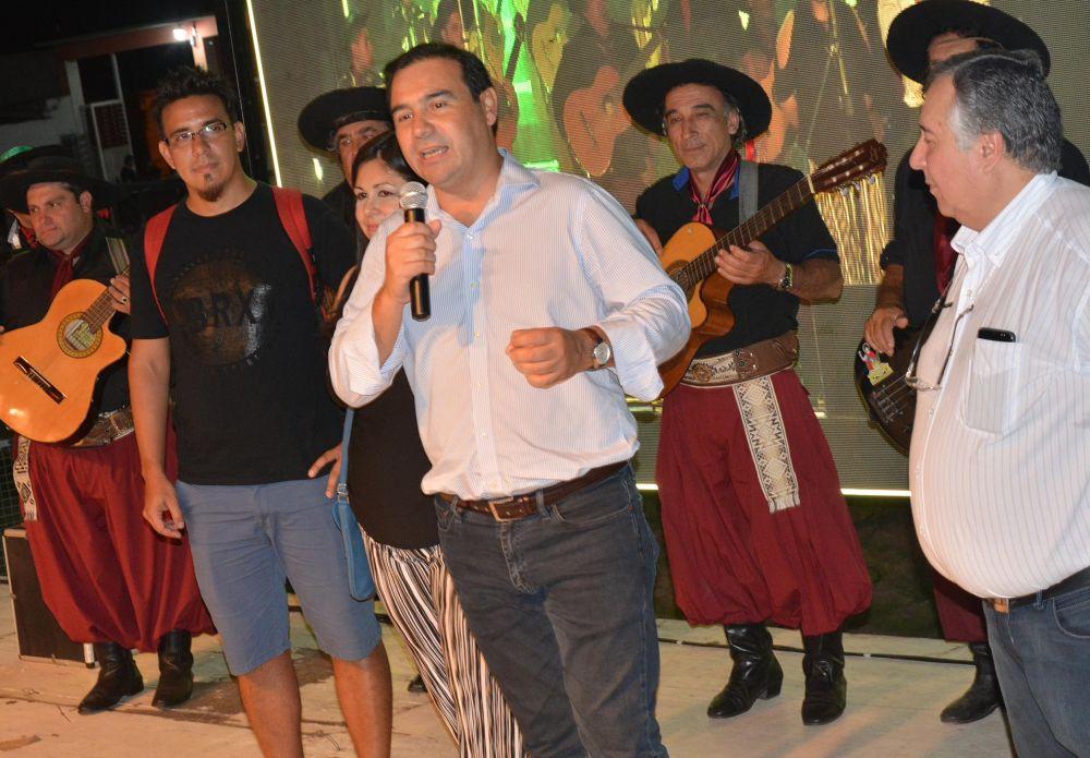 foto: Valdés participó del 9º Festival del Chicharrón en San Luis del Palmar