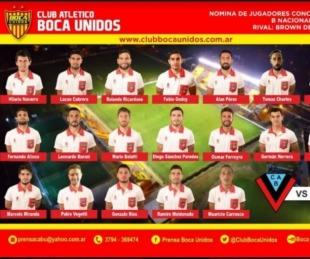 foto: Boca Unidos viaja a Buenos Aires para enfentar a Brown de Adrogue