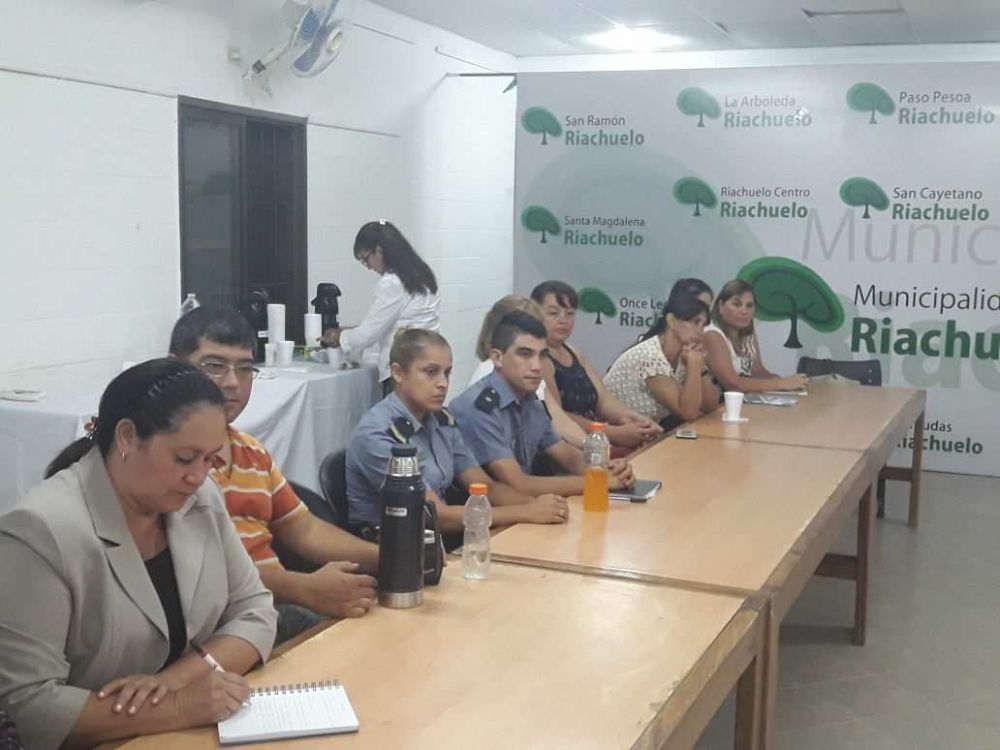 foto: Riachuelo: Fructífera reunión del Consejo Municipal