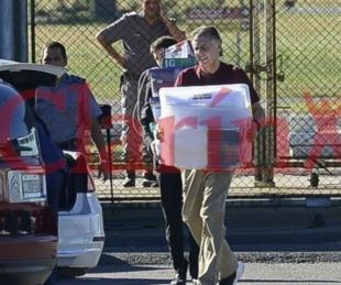 foto: Cristóbal López ya dejó el penal de Ezeiza y quedó en libertad