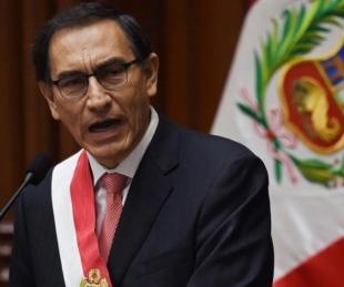 foto: Martín Vizcarra se convirtió hoy en Presidente de Perú