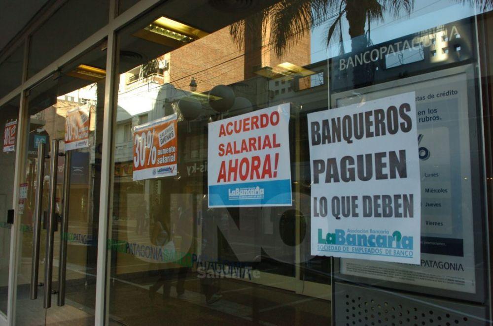 foto: La Bancaria anunció un paro nacional para el próximo 6 de abril