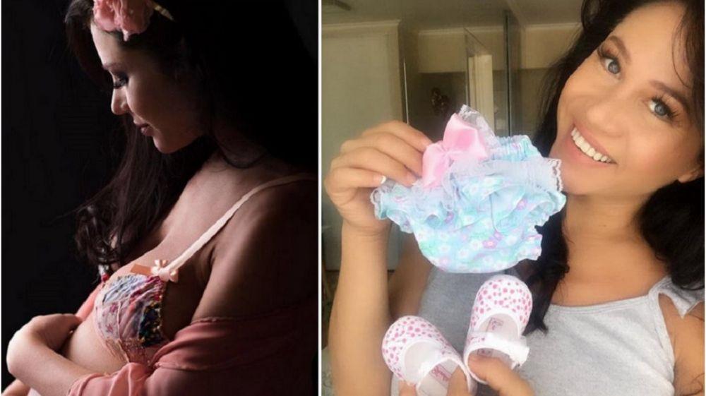foto: Adabel Guerrero mostró la primera foto de su hija Lola
