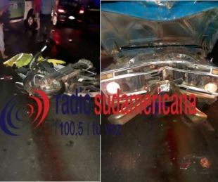 foto: Trágico: joven murió tras impactar de frente contra una camioneta