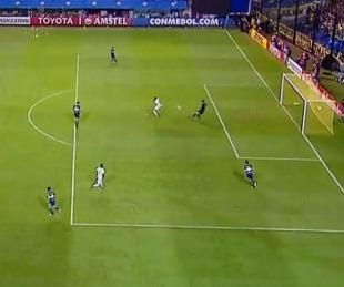 foto: El blooper de Rossi que casi termina en gol de Palmeiras