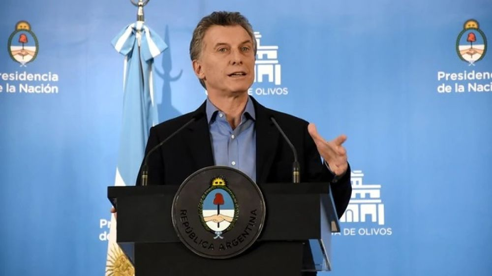 foto: Mauricio Macri: Consideramos superada la turbulencia cambiaria