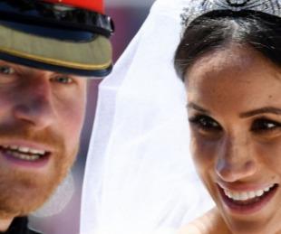 foto: El mensaje de la Corona inglesa tras la Boda de Harry y Megan