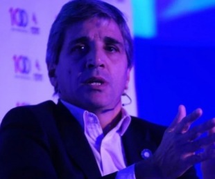 foto: Luis Caputo respaldó a Dujovne como el